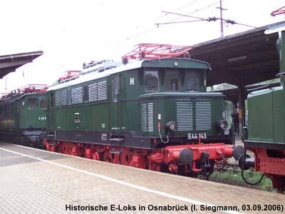 E-Loks in Osnabrück