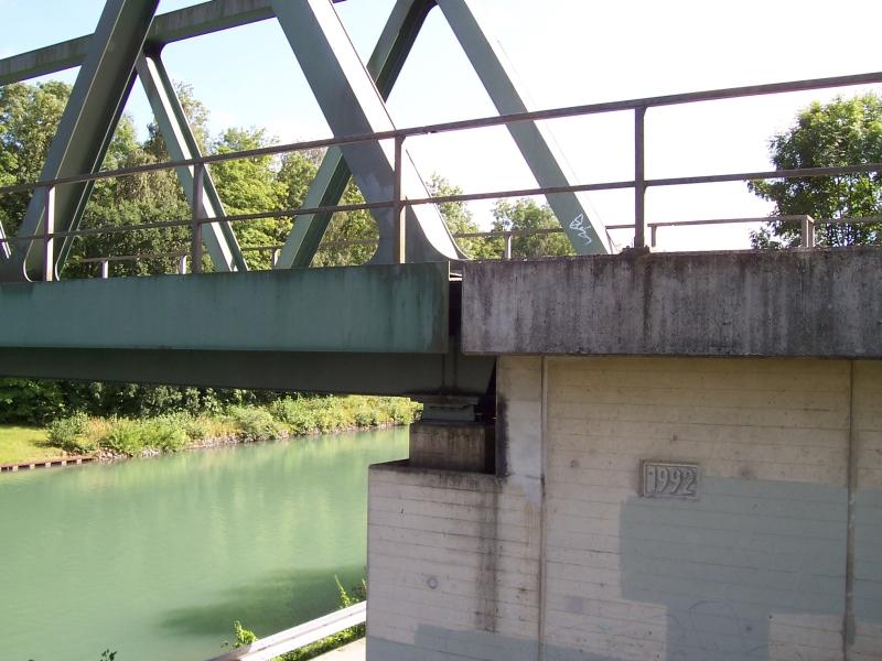 Eisenbahnbrücke über den Hildesheimer Stichkanal bei Harsum