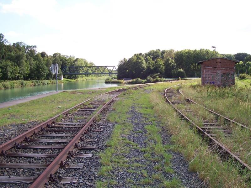 Gleisanlagen im Hafenbereich