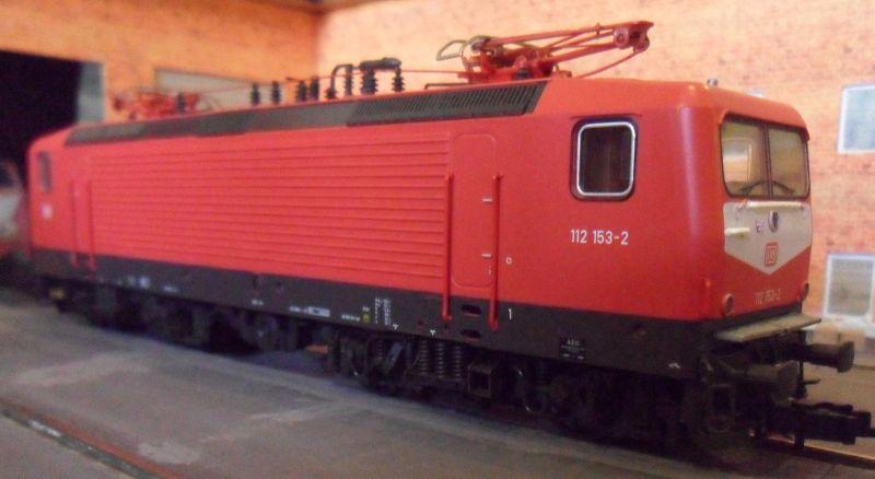 elektrische Lokomotive der Baureihe 112