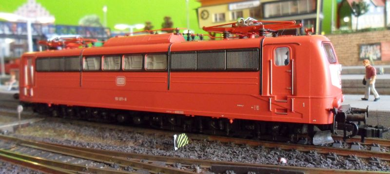 Lokomotive der Baureihe 151