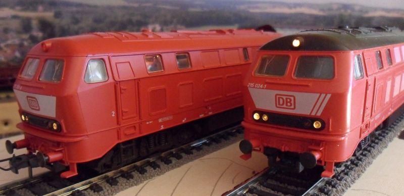 Roco-Loks der Baureihe 215