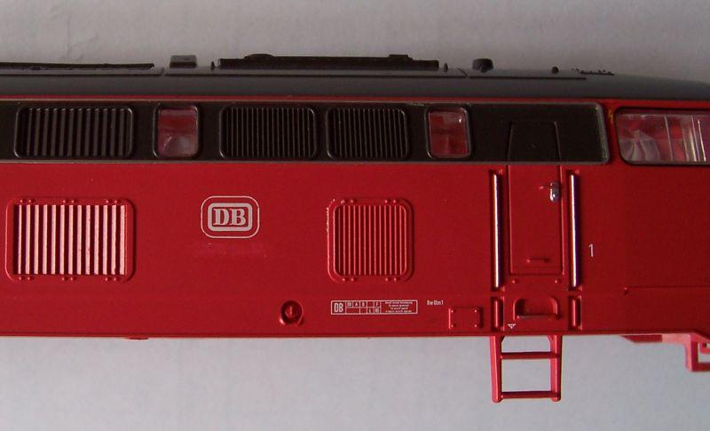 Lokomotive der Baureihe 215 ohne Loknummer