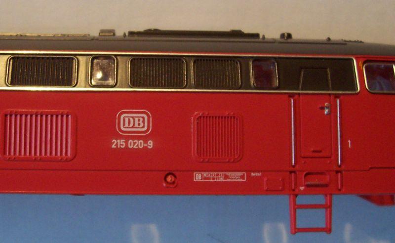 Neue Diesellok 215 020-9