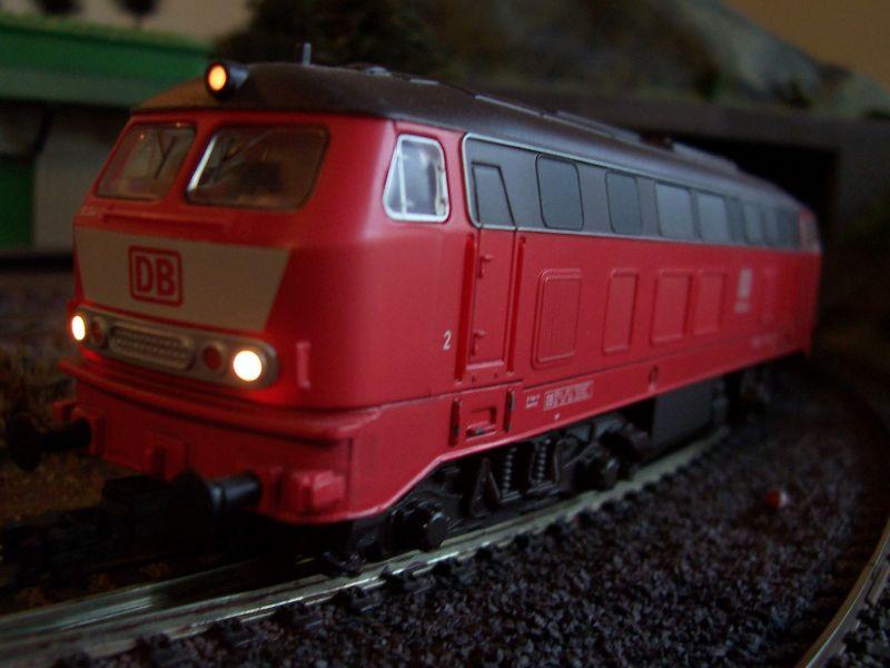 Diesellok der Baureihe 218 (Piko) in Bettbergen