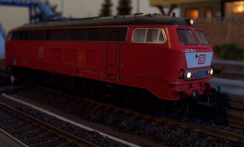 Diesellokomotive 218 362 von Fleischmann