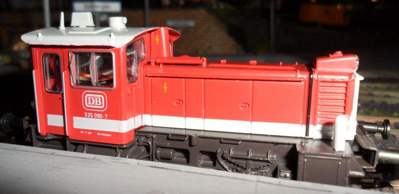 Diesellokomotive der Baureihe 335