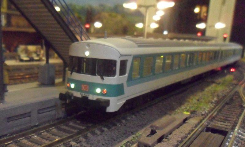 Verbrennungstriebwagen der Baureihe 624 in Bettbergen