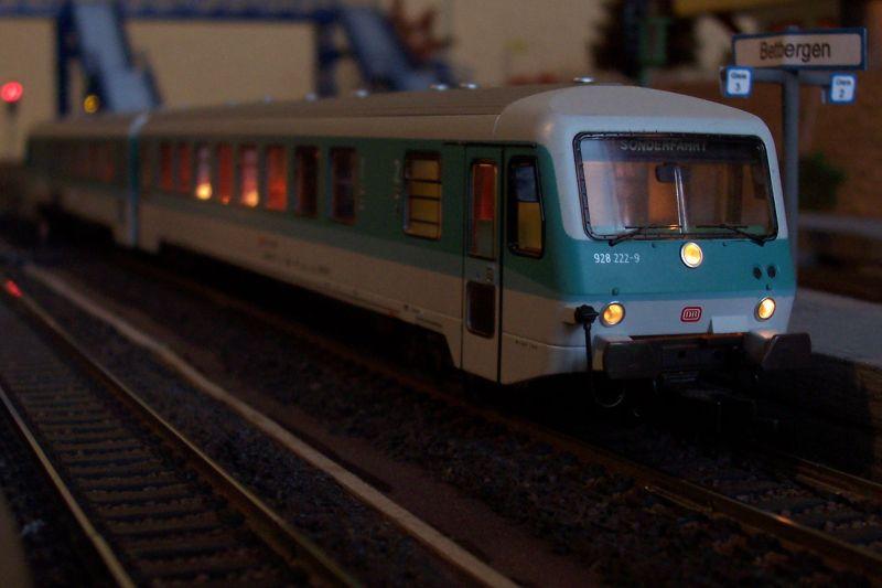 Steuerwagen der Baureihe 928