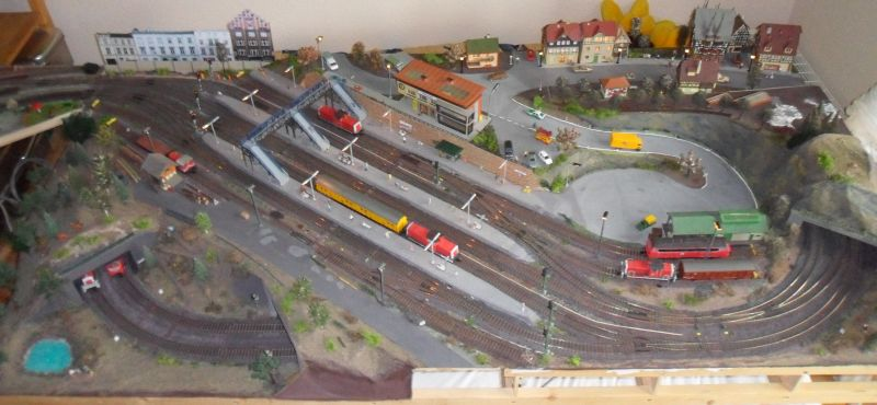 Blick auf Bahnhof Bettbergen