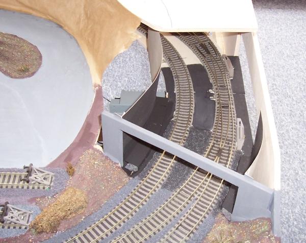 Ausgangslage: Eisenbahntunnel ohne Berg