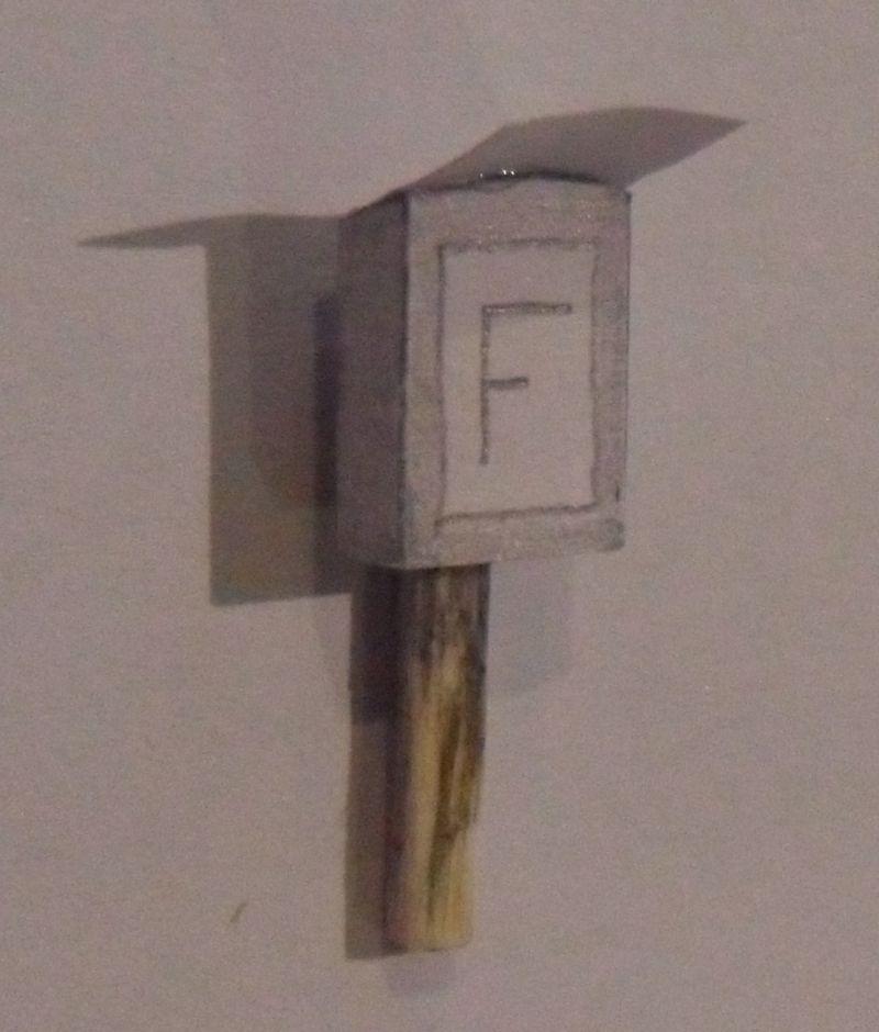 F-Kasten für die Modellbahn