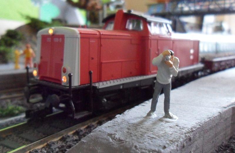 Welches Motiv hat der Eisenbahnfotograf in Bettbergen wohl entdeckt?