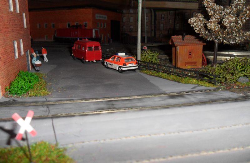 Zufahrt zum Bahnbetriebswerk