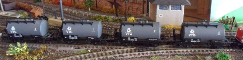 VTG-Kesselwagenzug von Piko