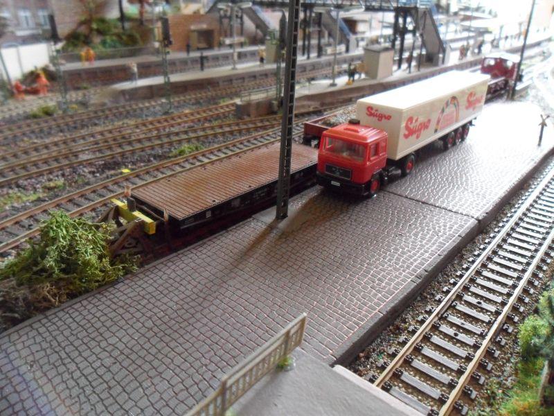 Laderampe Am Bahnhof Bettbergen