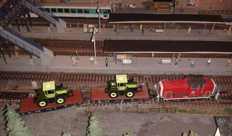 Rangierarbeiten Im Bahnhof Bettbergen