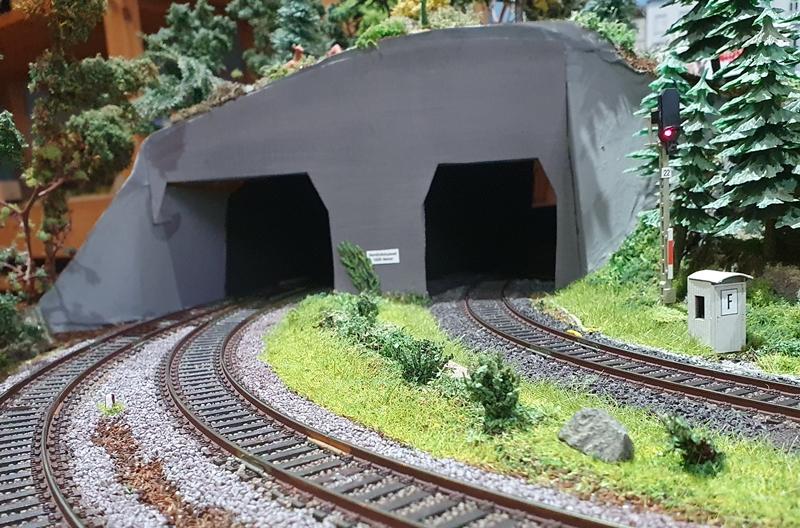 Gestaltung Tunneleinfaht