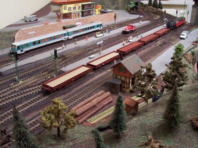 Bahnhof der Modelleisenbahnanlage