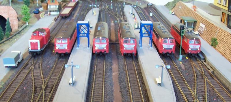 Diesellokomotiven in Bettbergen