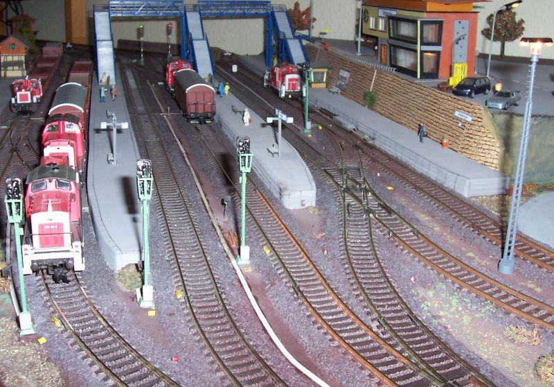 Kabelkanäle im Bahnhof Bettbergen