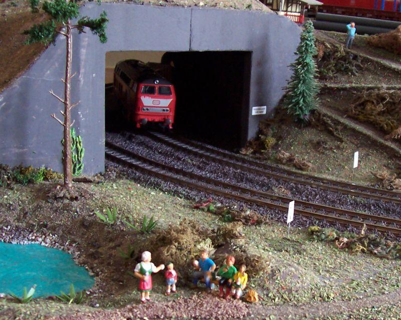 Tunneleinfahrt des Vornlinkstunnels