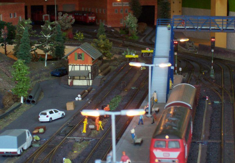 Blick von Bettbergen aus zum Betriebswerk Wendlingen