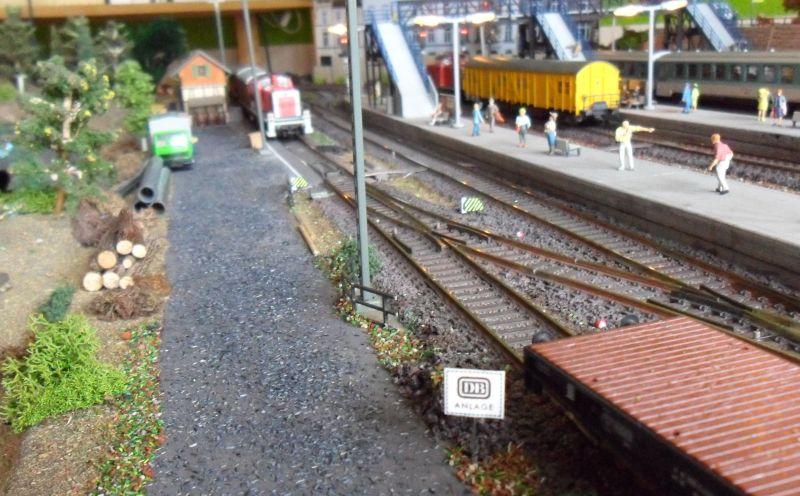 Ladestraße am Bahnhof Bettbergen