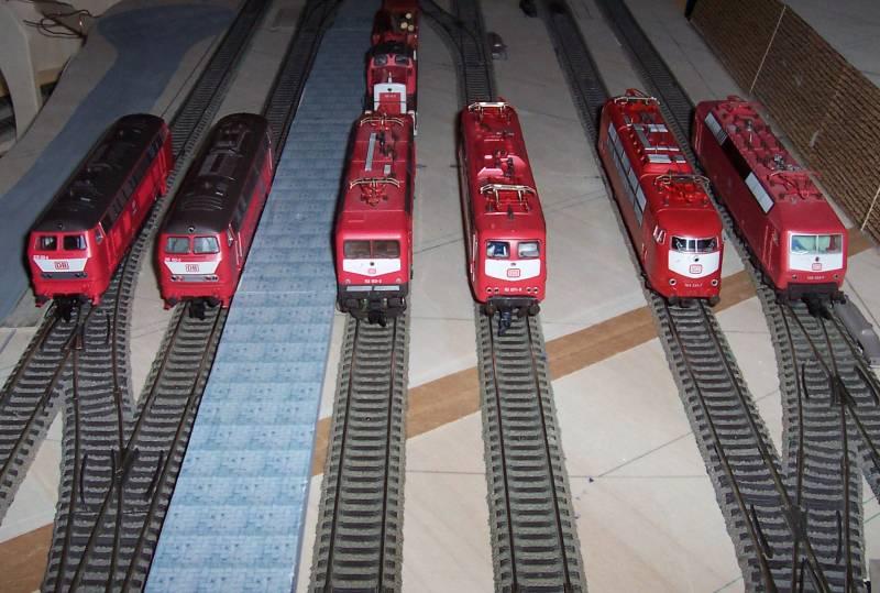 7 Lokomotiven sind für ihren Einsatz bereits digitalisiert