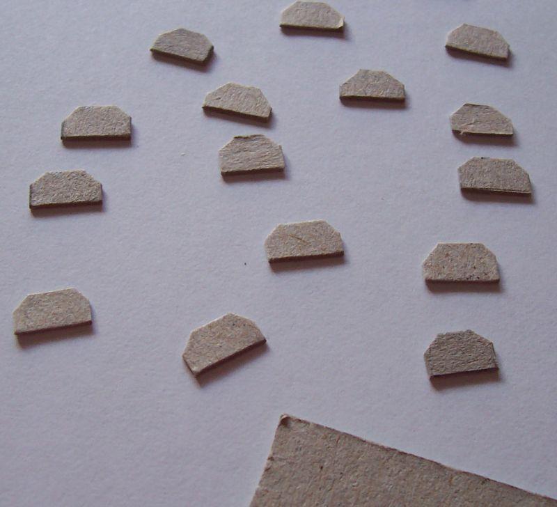 Schutzsignale aus Pappe