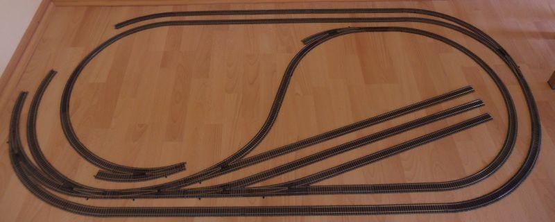 Gleisplan Schattenbahnhof