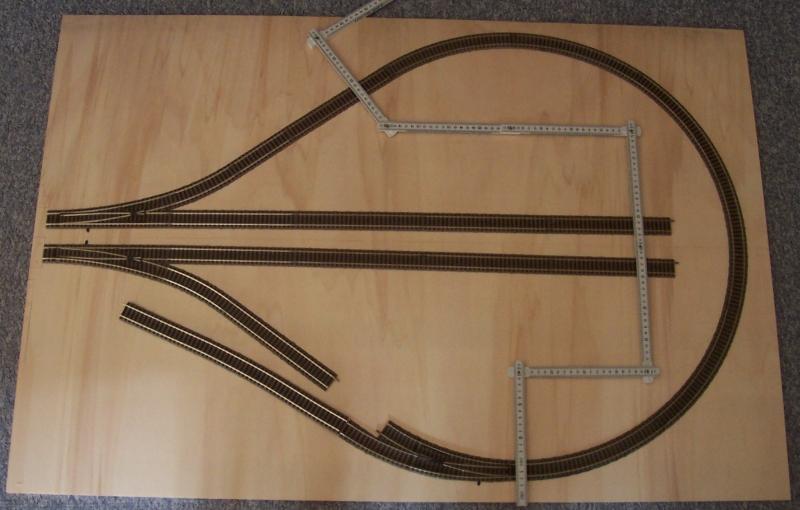 Gleisanordnung für das Modul Wendlingen