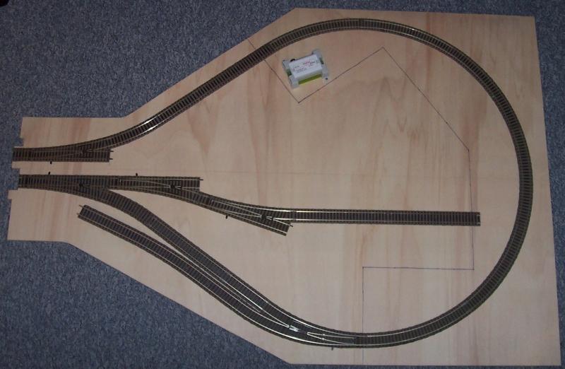 Rohbau Modellbahnmodul Wendlingen