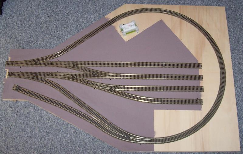 Modellbahnmodul Wendlingen mit Kehrschleife